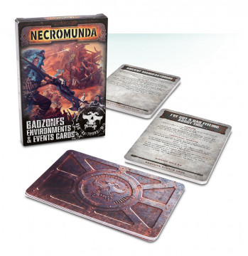 Necromunda: Badzone Environments & Events Cards