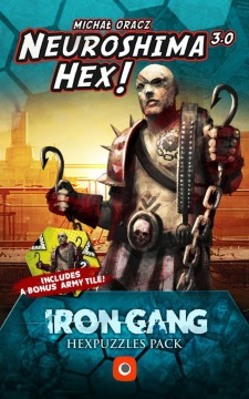Neuroshima HEX! 3.0: Iron Gang Hexpuzzles Pack