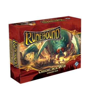 Runebound (3rd Edition) – Caught in a Web (Scenario Pack)