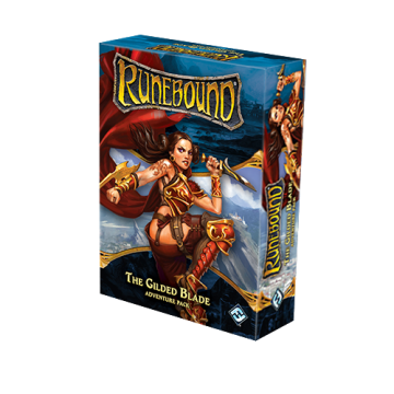 Runebound (3rd Edition) - The Gilded Blade (Adventure Pack)