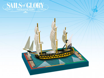 Sails Of Glory - HMS Leander/ HMS Adamant 50-guns Portland class 4th rate
