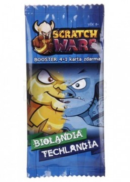 Scratch Wars - Booster (Biolandia/Techlandia)