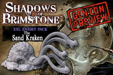Shadows of Brimstone: Sand Kraken
