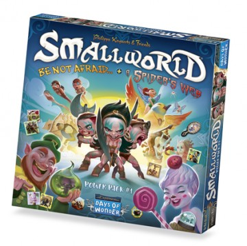 Small World Race Collection 1: Be Not Afraid & A Spider Web