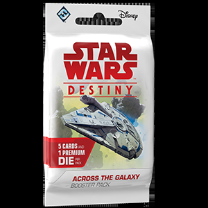 Star Wars: Destiny - Across the Galaxy - Booster (anglicky)