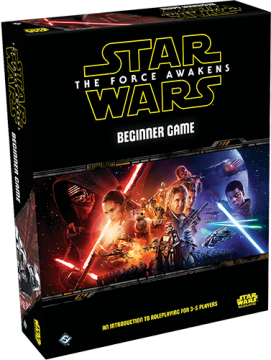Star Wars: Force Awakens - Beginner Game