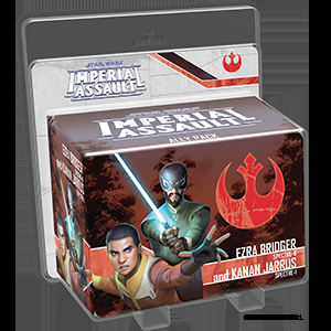 Star Wars: Imperial Assault – Ezra Bridger and Kanan Jarrus Ally Pack