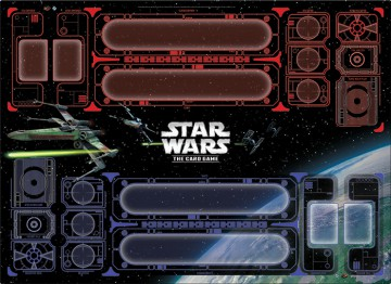 Star Wars LCG: Galactic Conflict Two-Player Playmat (herní podložka)