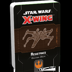 X-Wing Second Edition: Resistance Damage Deck