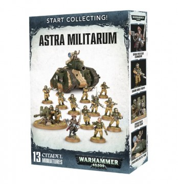 Start Collecting! Astra Militarum (Warhammer 40,000)