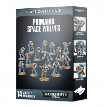 Start Collecting! Primaris Space Wolves (Warhammer 40,000)