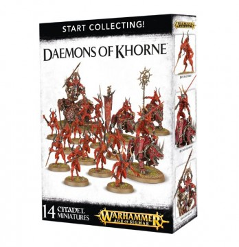 Start Collecting! Daemons of Khorne  (Warhammer: Age of Sigmar)
