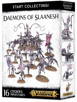 Start Collecting! Daemons of Slaaneshd (Warhammer: Age of Sigmar)