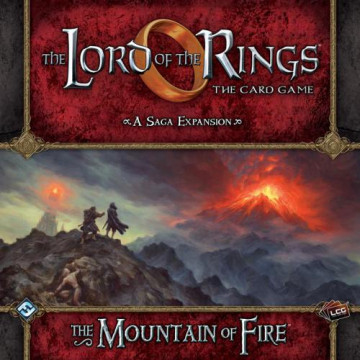 The Lord of the Rings LCG: The Card Game – The Mountain of Fire