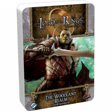 The Lord of the Rings LCG: The Card Game – The Woodland Realm - Custom Scenario Kit