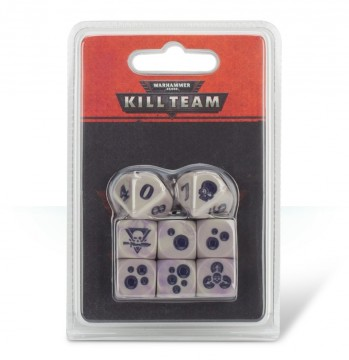 Warhammer 40,000: Kill Team Gellerpox Infected Dice