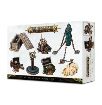 Warhammer Age of Sigmar Shattered Dominion Objectives Markers