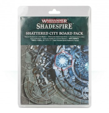 Warhammer Underworlds: Shadespire – Shattered City Board Pack