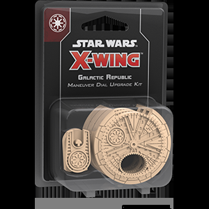 X-Wing Second Edition - Galactic Republic Dial Upgrade Kit