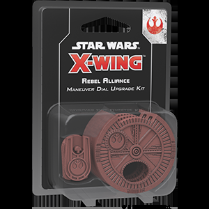 X-Wing Second Edition - Rebel Alliance Maneuver Dial Upgrade Kit