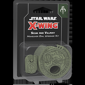 X-Wing Second Edition - Scum and Villainy Maneuver Dial Upgrade Kit