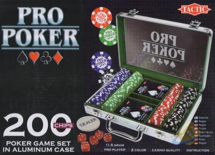 Poker Deluxe 200 - sada žetonů