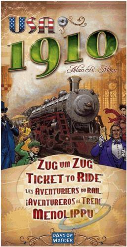 Ticket to Ride: 1910 (rozšíření)