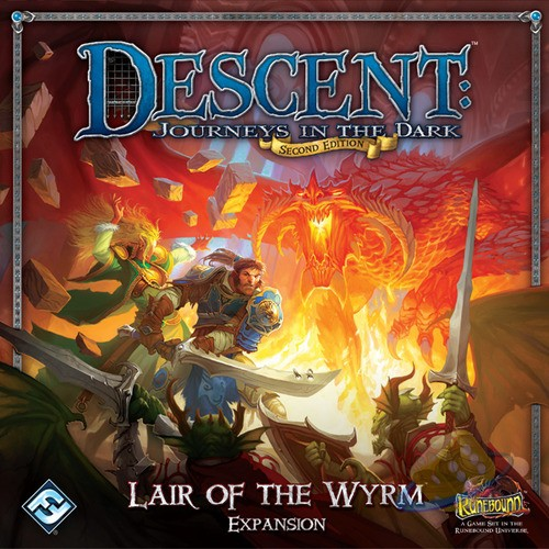 Descent (2nd Ed.): Lair of the Wyrm