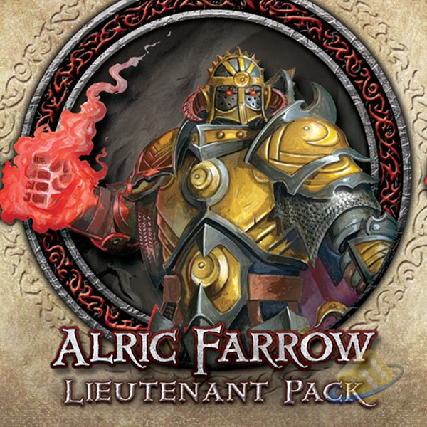 Descent: Journeys in the Dark (2nd. Ed.) - Alric Farrow Lieutenant Pack