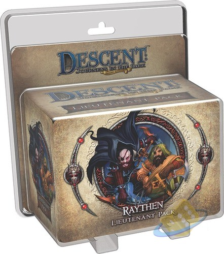 Descent: Journeys in the Dark (2nd. Ed.) - Raythen Lieutenant Pack