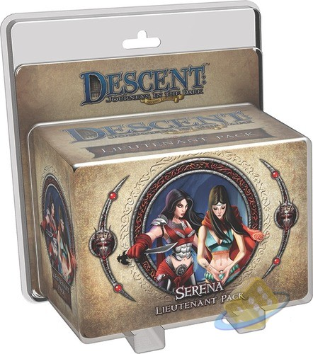 Descent: Journeys in the Dark (2nd. Ed.) - Serena Lieutenant Pack