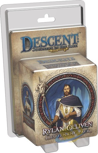 Descent: Journeys in the Dark (2nd. Ed.) - Rylan Olliven Lieutenant Pack