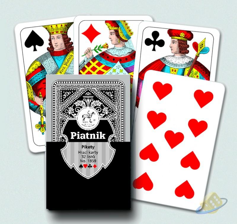 Pikety - dvouhlavé karty