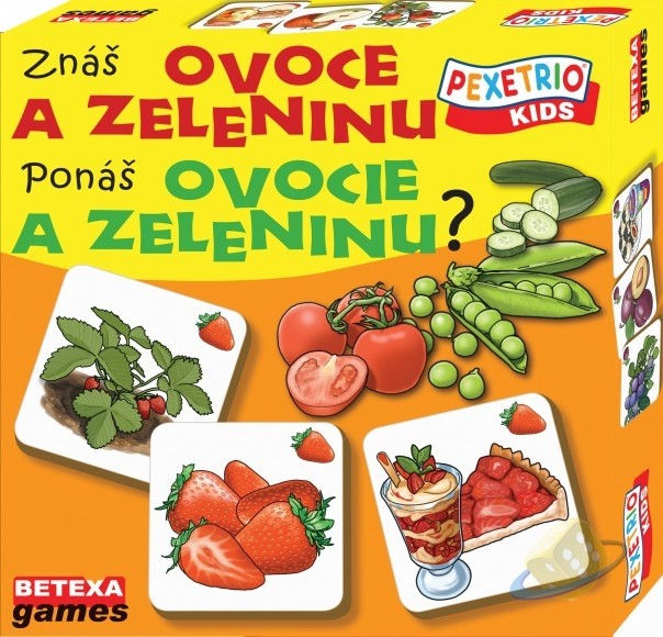 Pexetrio: Znáš ovoce a zeleninu?