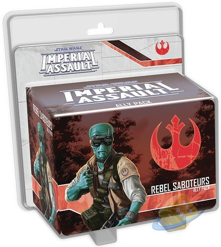 Star Wars: Imperial Assault - Rebel Saboteurs
