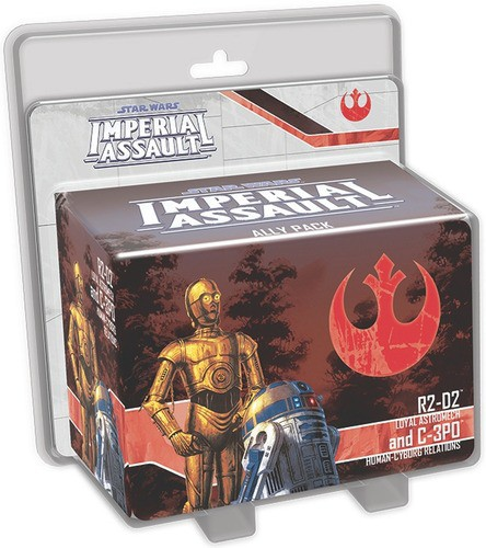 Star Wars: Imperial Assault - R2-D2 and C-3PO