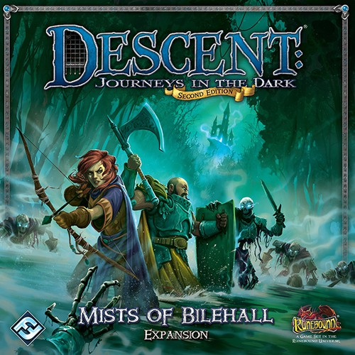Descent (2nd Ed.): Mists of Bilehall