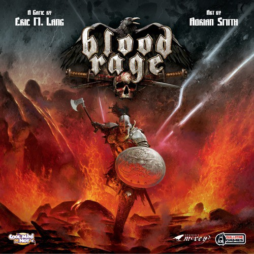 Blood Rage (anglicky)