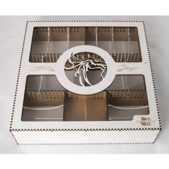 Card Crate - Dragon - Krabice s pořadačem na karty