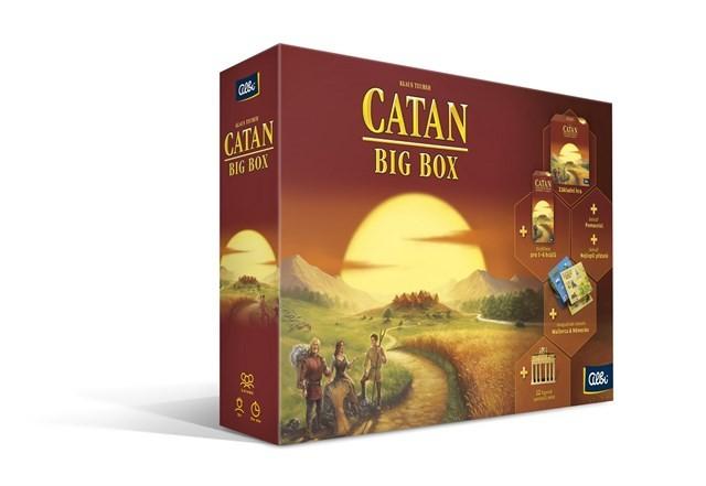 Catan: Big Box (Osadníci z Katanu - Big Box)