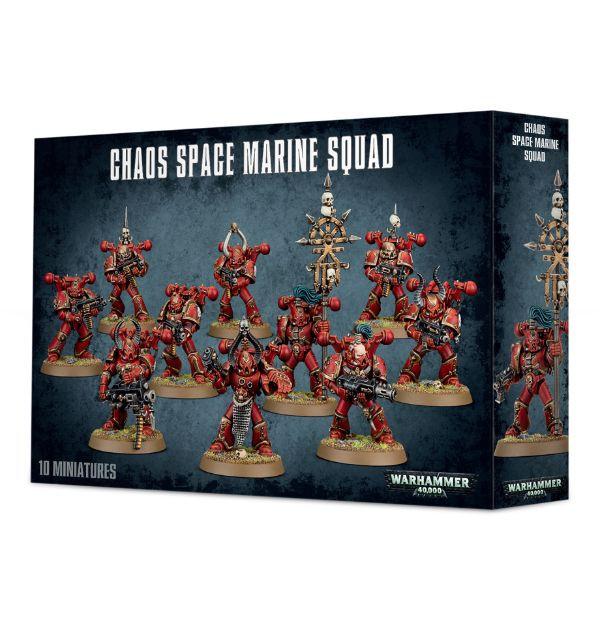 Chaos Space Marine: Squad