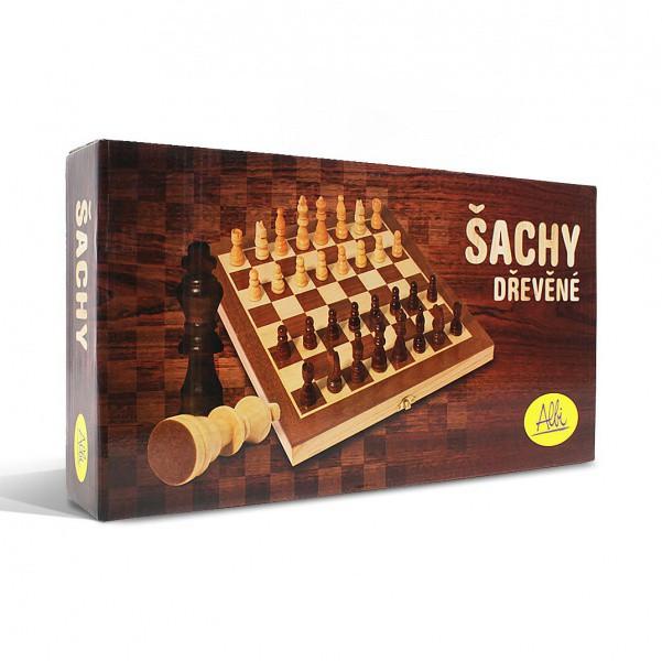 Dřevěné šachy ALBI