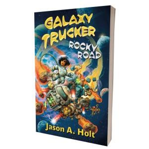 Galaxy Trucker: Rocky Road Novel (kniha)