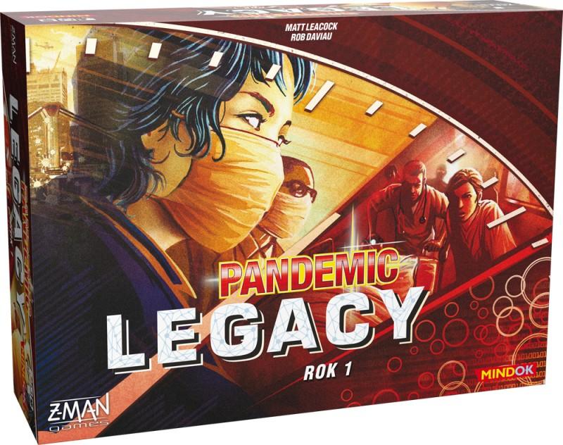 Pandemic Legacy Rok 1 - červená krabice (česky)