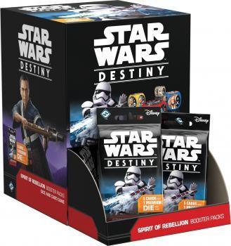 Star Wars: Destiny - Duch povstání - Booster Box - CZ