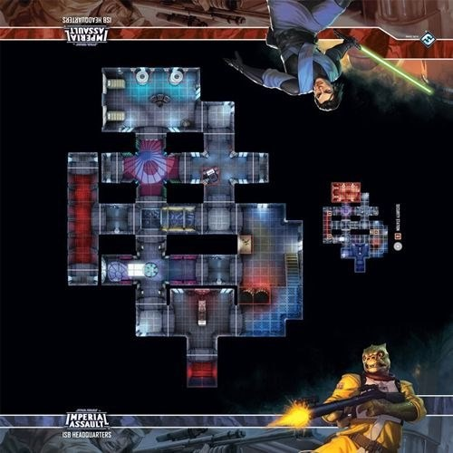 Star Wars: Imperial Assault - Skirmish Map - ISB Headquarters