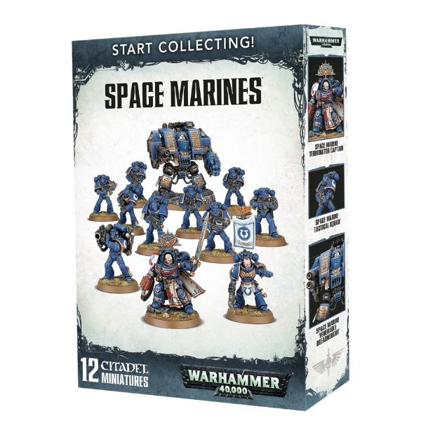 Start Collecting! Space Marines (Warhammer 40,000)