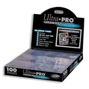 Stránkové obaly na 9 karet - Ultra Pro Platinum