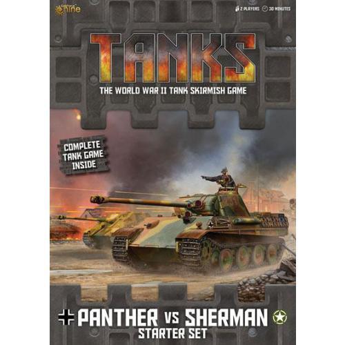 Tanks: Panther vs Sherman (základní sada)